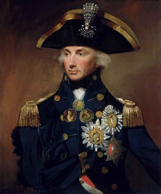 Rear Admiral, Sir Horatio Nelson, c.1799, Oil on Canvas
