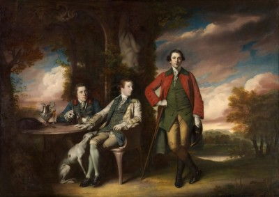 James Grant, John Mytton, The Honorable Thomas Robinson, c.1770, Oil on Canvas