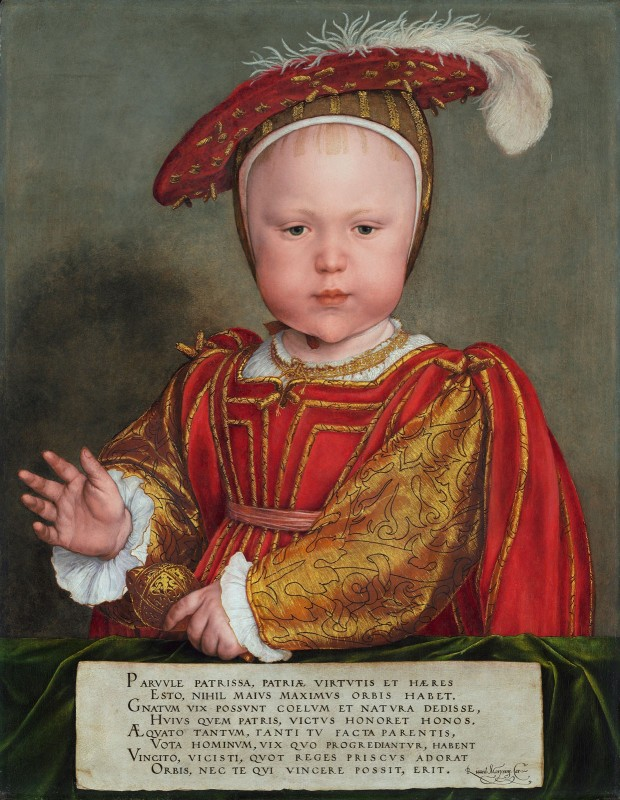 Edward VI as a Child, c.1538, Oil on Panel