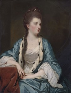Portrait of Elizabeth Kerr, c.1769, Oil on Canvas