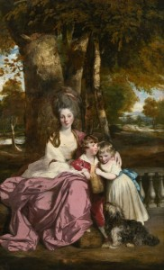 Lady Elizabeth Delmé and Her Children, c.1777, Oil on Canvas