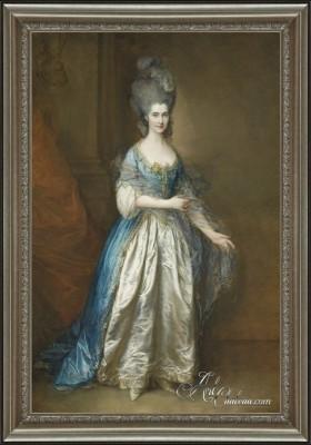 Portrait of Miss Frances Read, Thomas Gainsborough