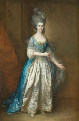 Portrait of Miss Frances Read, c.1777, Oil on Canvas