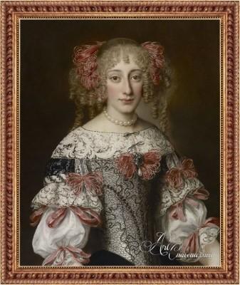 Portrait of a Noblewoman, after Jacob Ferdinand Voet