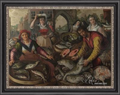Fish Market, after Joachim Beuckelaer
