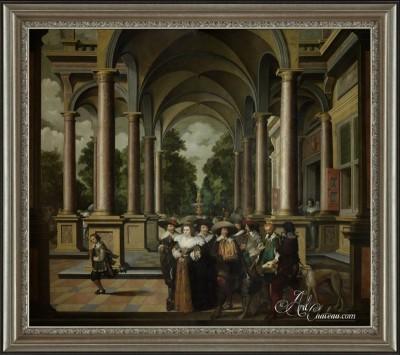 The Gallery, after Dirck van Delen