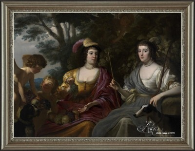 Ceres and Diana, after Gerard van Honthorst