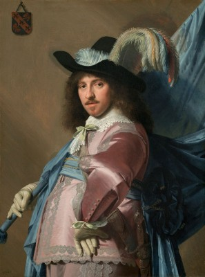 Andries Stilte as a Standard Bearer, c.1641, Oil on Canvas