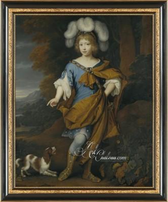 Baroque Revival Painting, after John van der Vaart