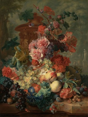 Still Life with Flowers, c.1723, Oil on Canvas