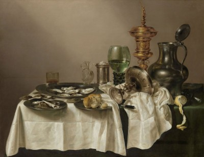 Still Life, After the Feast, c.1635, Oil on Canvas
