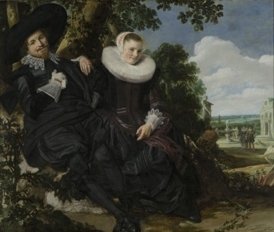 Wedding Portrait of Isaac and Beatrix Abrahamsz, c.1622, Oil on Canvas