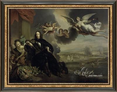 The Glorification of Cornelis De Witt, after Jan de Baen