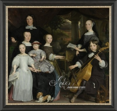 Baroque Style Painting, after Abraham van den Tempel