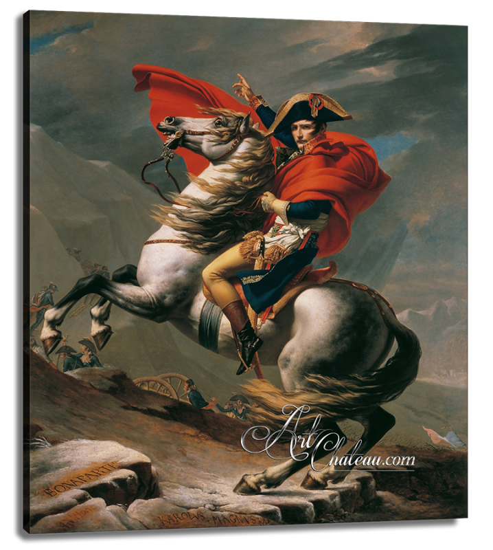 Napoleon Crossing the Alps, after Jacques Louis David
