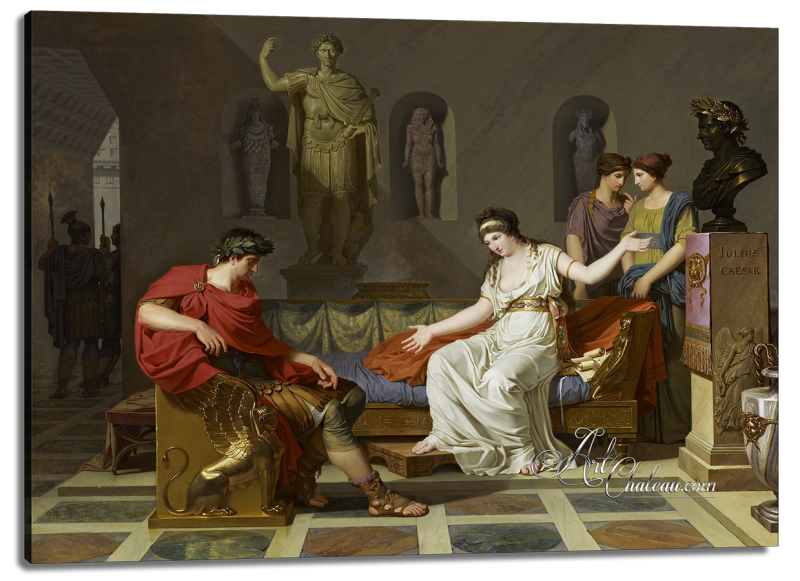 Cleopatra and Octavian, after Louis Gauffier