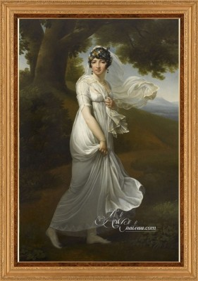 Portrait of Caroline Murat Bonaparte, after Francois Gerard