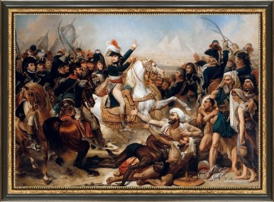 Battle of the Pyramids, after Antoine-Jean Gros