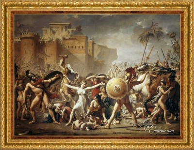 The Intervention of the Sabine Women, after Jacques-Louis David