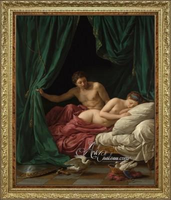 Mars & Venus, after Louis Jean Francois Lagrenee