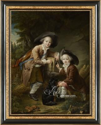 Two Savoyards, after Francois Hubert Drouais