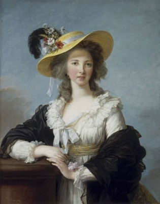 Yolande Gabrielle de Polastron, Duchesse de Polignac, c.1785, Oil on Canvas