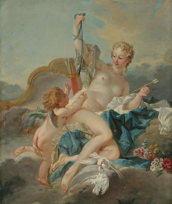 Venus Disarming Cupid, c.1750, Oil on Canvas