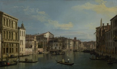 The Grand Canal in Venice from Palazzo Flangini to Campo San Marcuola, c.1738, Oil on Canvas