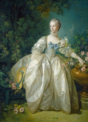 Madame Bergeret, c.1766, Oil on Canvas