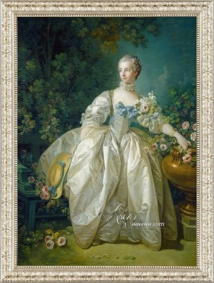 Madame Bergeret, after Painting by Francois Boucher