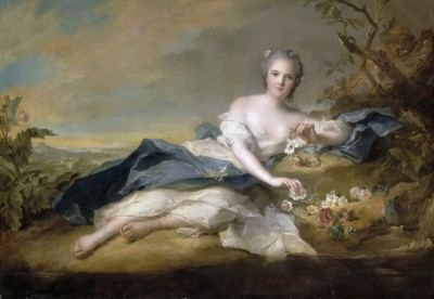 Ann Henriette de France, c.1760, Oil on Canvas