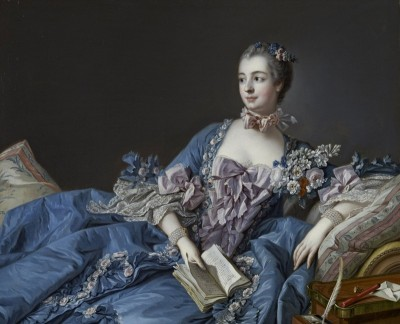 Madame de Pompadour, c.1758, Oil on Canvas