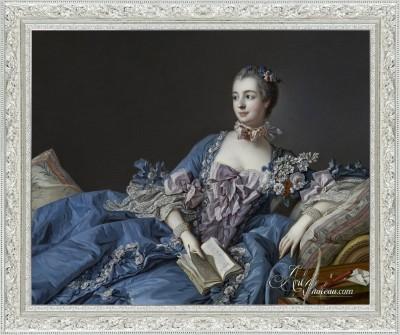 Madame de Pompadour, after Francois Boucher