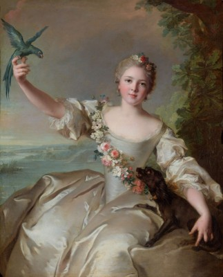 Renée de Carbonnel de Canisy, c.1760, Oil on Canvas