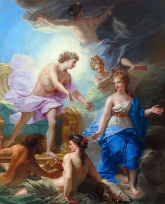 Apollo and Thetis, c.1788, Oil on Canvas