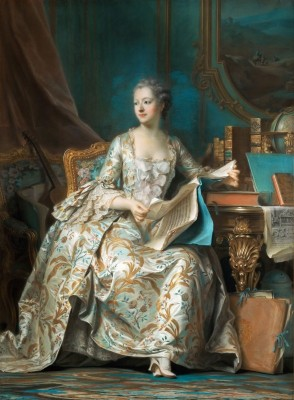 Madame de Pompadour, c.1750, Oil on Canvas