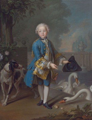 Portrait de Louis Philippe Joseph, Duc d'Orleans, c.1757, Oil on Canvas