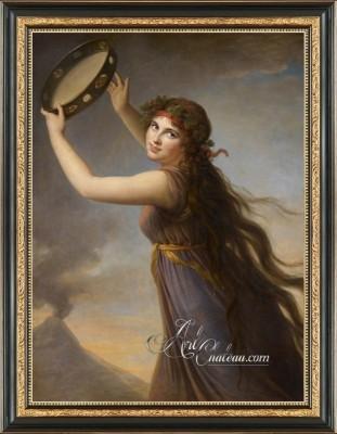 Lady Hamilton as a Bacchante, after Louise Elisabeth Vigee Le Brun