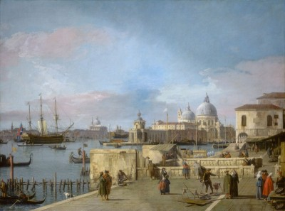 Entrance to the Grand Canal, From the Molo, c.1745, Oil on Canvas