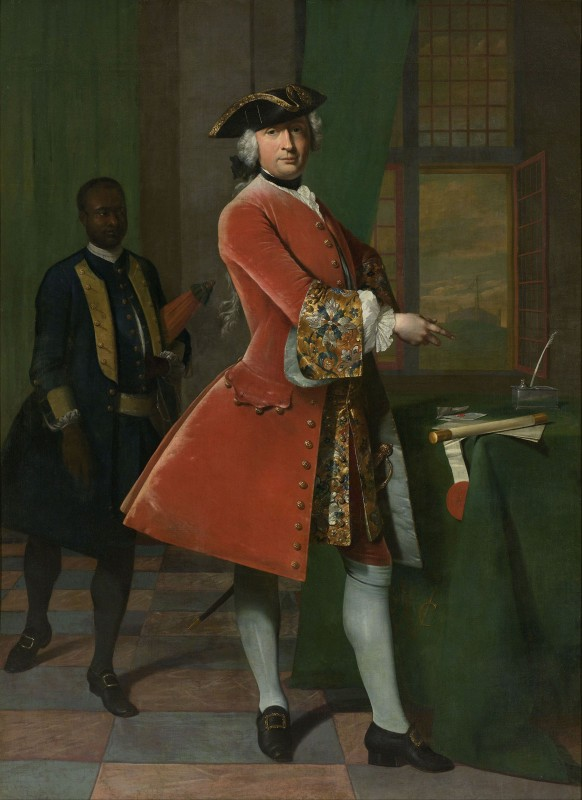 Portrait of Jan Pranger, c.1742, Oil on Canvas
