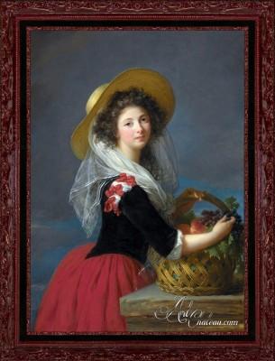 Portrait of Marie-Gabrielle de Sinety, after Elisabeth Vigee Le Brun