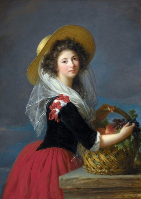 Portrait of Marie-Gabrielle de Sinéty, c.1810, Oil on Canvas