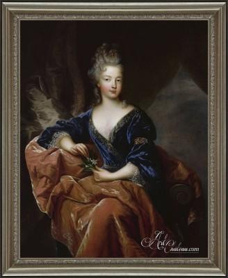 The Duchess of Orleans, after Francois de Troy