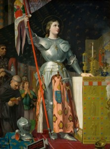 Joan of Arc at the Coronation of Charles VII (July 22, 1461), c.1854, Oil on Canvas