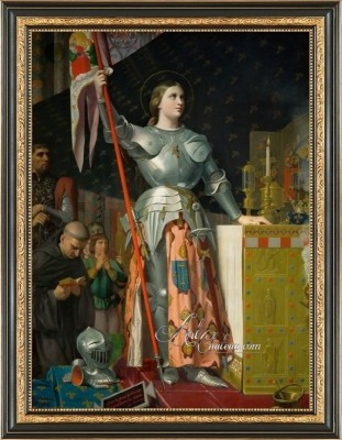 Joan of Arc at the Coronation of Charles VII, after Jean Ingres