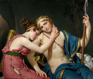 The Farewell of Telemachus and Eucharis, c.1818, Oil on Canvas