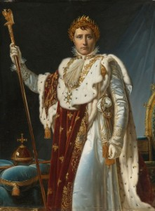 Portrait of Napoleon in Coronation Robes, c.1830, Oil on Canvas