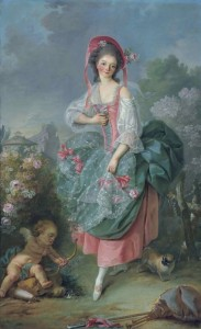 Mademoiselle Guimard as Terpsichore, c.1775, Oil on Canvas