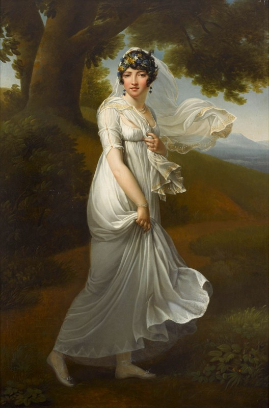 Portrait of Caroline Murat Bonaparte, c.1805, Oil on Canvas