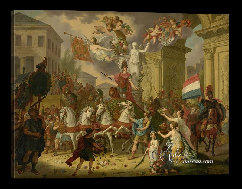 Triumphal Prince of Orange, after Cornelis van Cuylenburgh